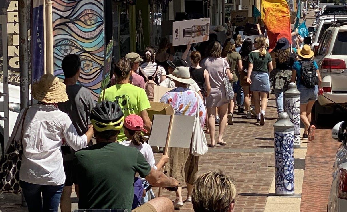 School climate strike Geraldton