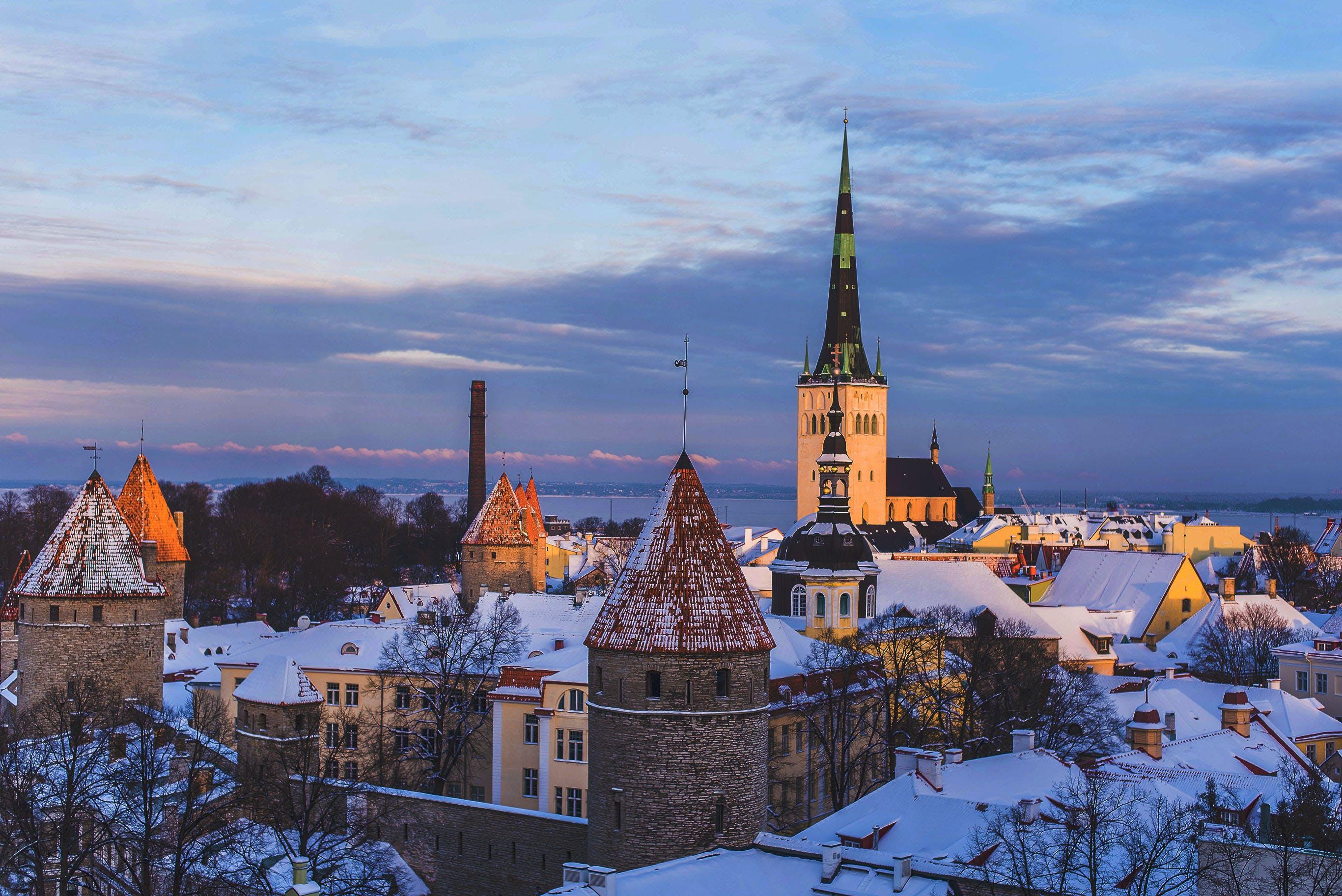 Picture of Tallinn, Estonia.
