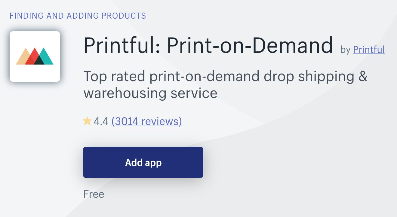 Printful Print on Demand