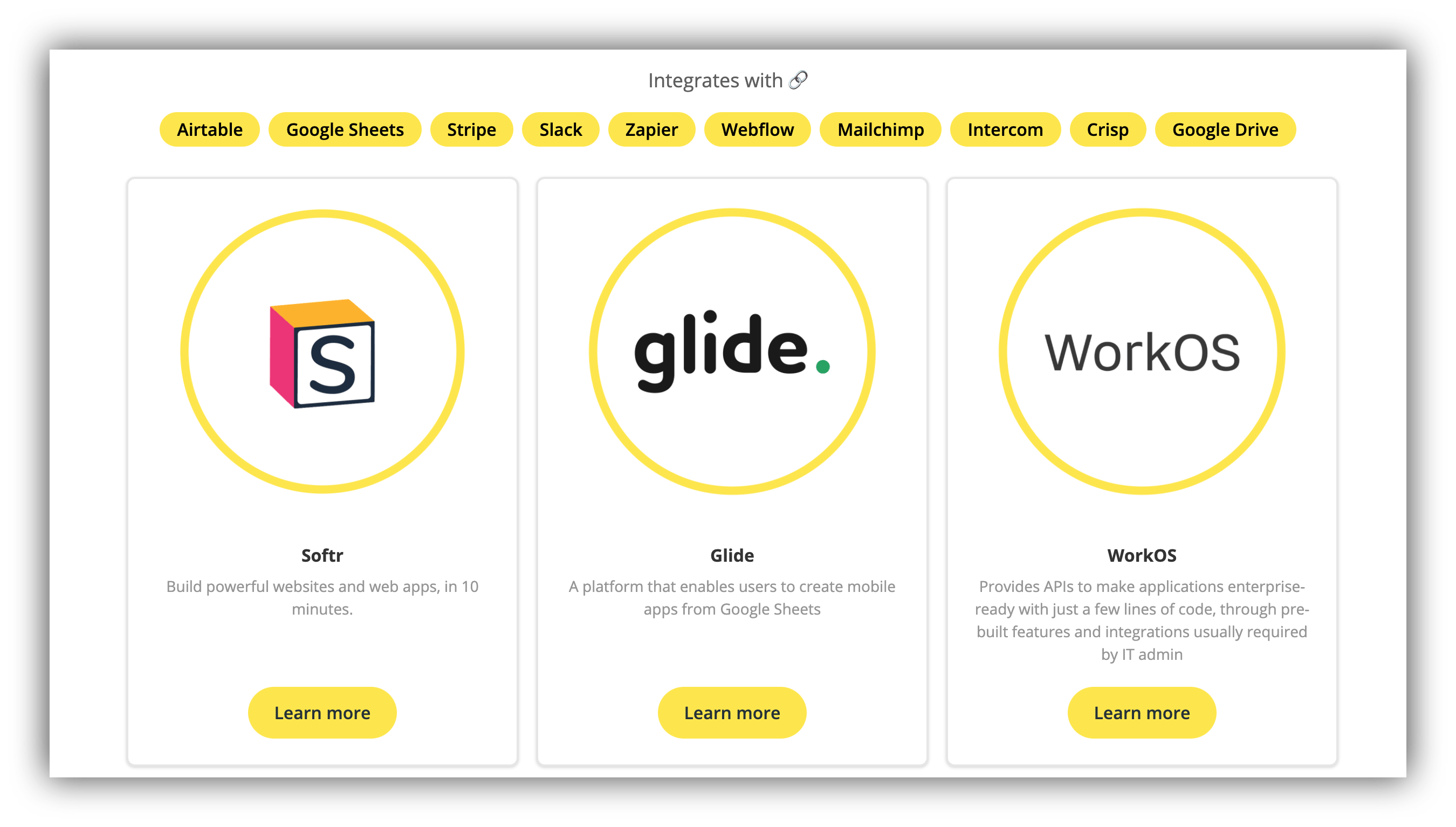 startup tools directory