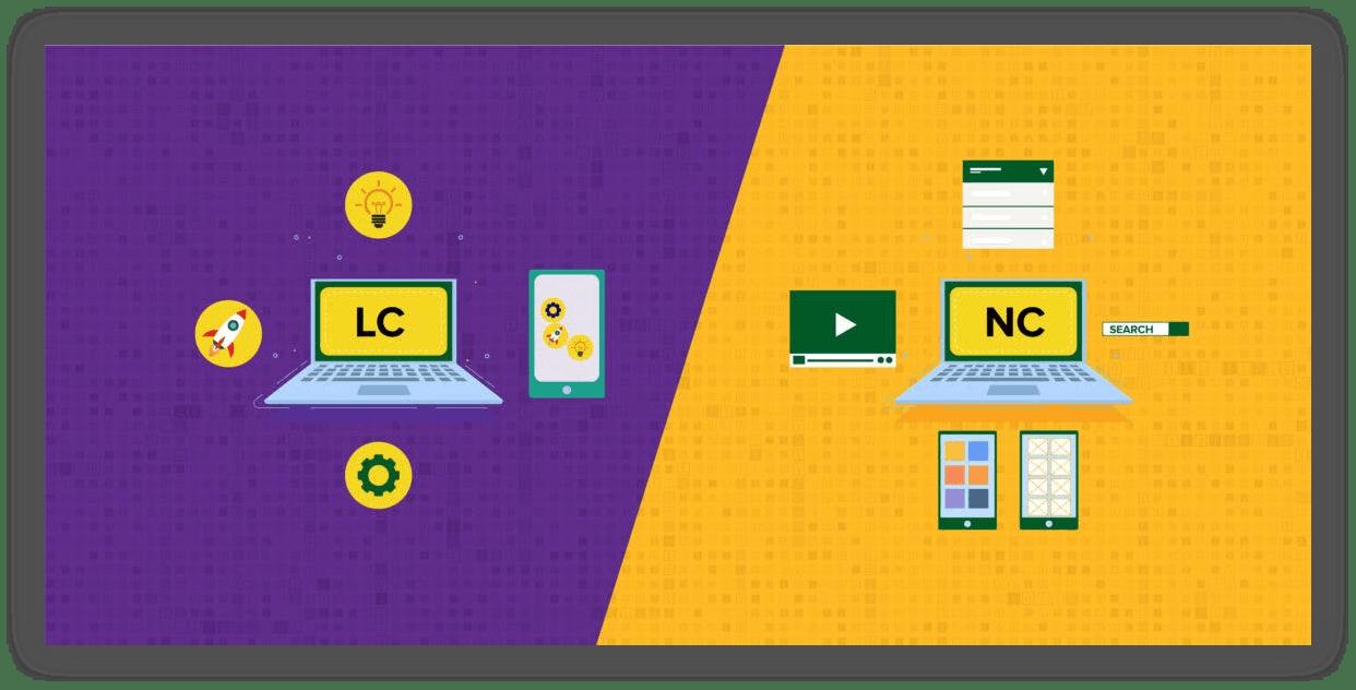 no-code vs low-code