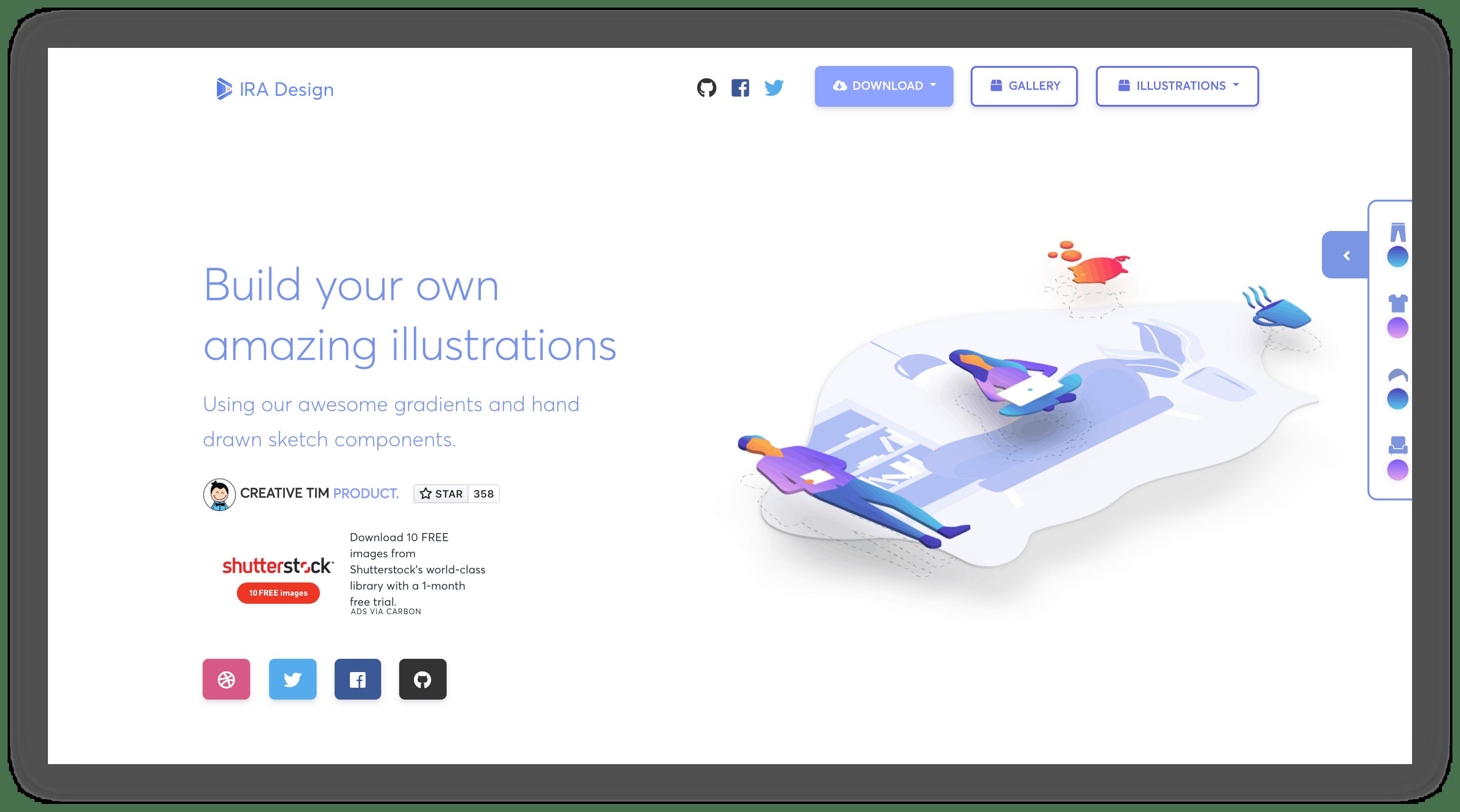 ira designwebsite