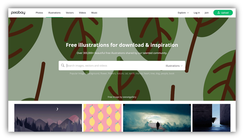 pixabay website
