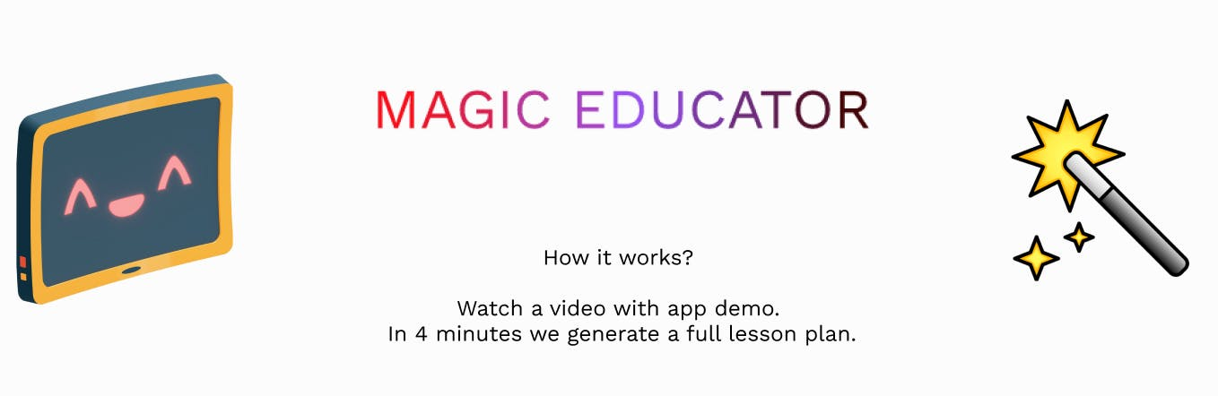 Magic Educator Demo | Watch how to generate a lesson plan in 5 minutes