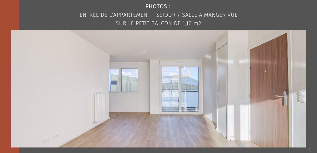 Entrée appartement Achères - 78