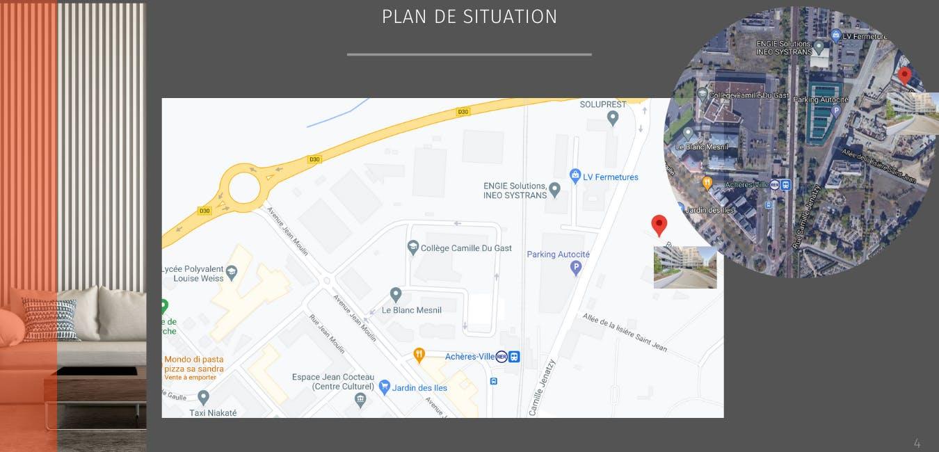 Plan de situation