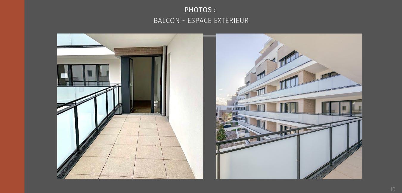 Balcon espace extérieur