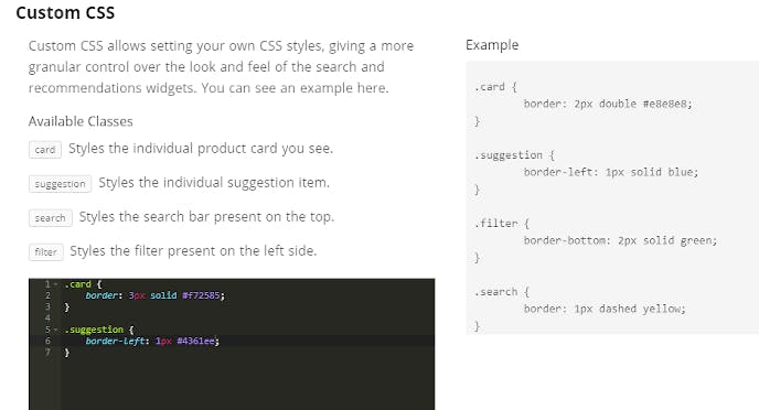 add custom css classes