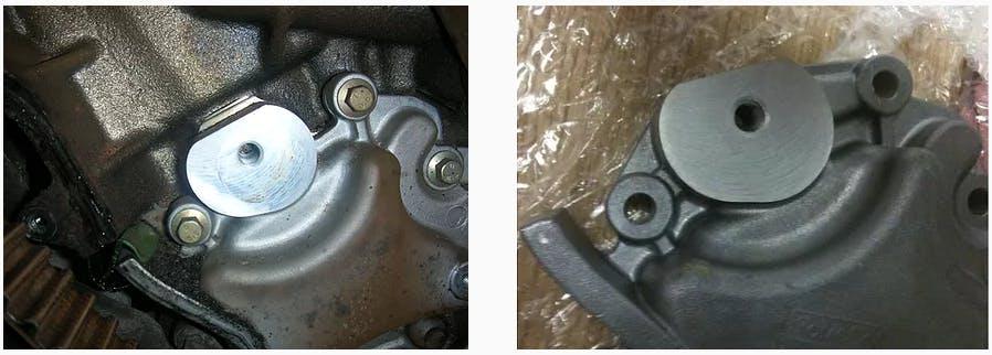 Modified oil pump
