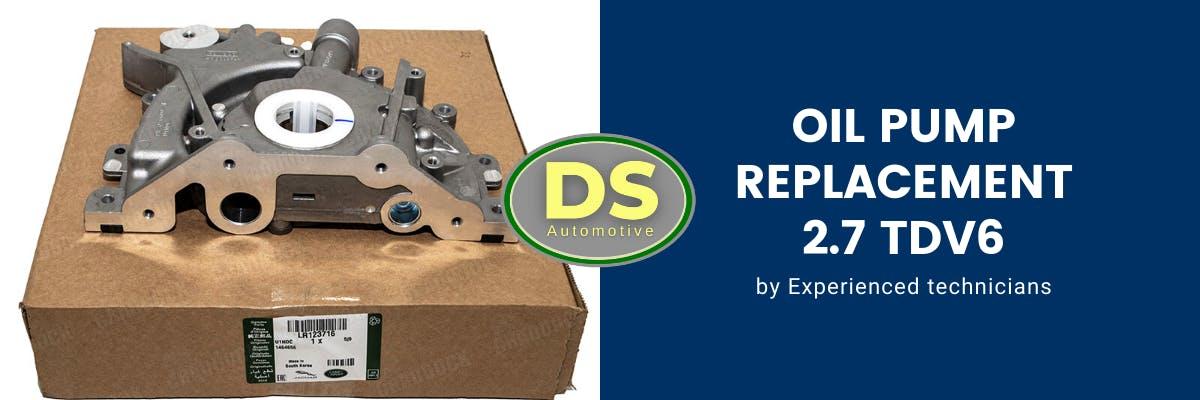 Oil pump replacement 2.7 TDV6
